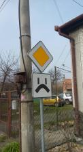 Sad crossroads