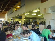 University canteen full of people