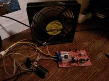 PWM fan controller which cools me down during summer