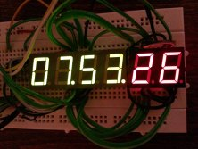 DIY Digital clock with AVR ATmega8 (1)