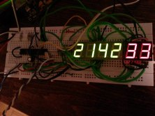 DIY Digital clock with AVR ATmega8 (2)