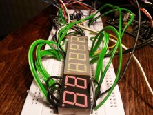 DIY Digital clock with AVR ATmega8 (4)