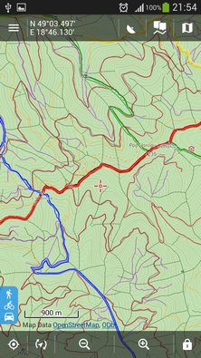 Map layer of forest roads/paths for Locus (2)