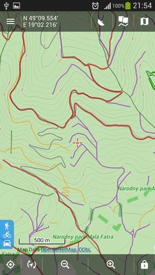 Map layer of forest roads/paths for Locus (4)