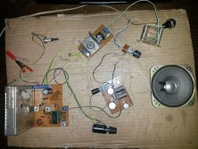 Ecological FM receiver with components from TV Tesla (3)