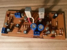 4W amplifier with germanium transistors