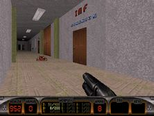 The Grammar School of Ludovít Štúr - a level for Duke Nukem 3D (2)