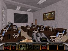 The Grammar School of Ludovít Štúr - a level for Duke Nukem 3D (4)