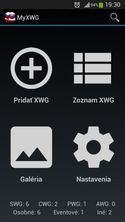 MyXWG - Android application (1)