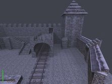 """The Castle"" - map for Return to Castle Wolfenstein"