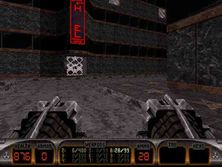 """Street"" - a level for Duke Nukem 3D"