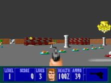 Wolfenstein 3D - my own version